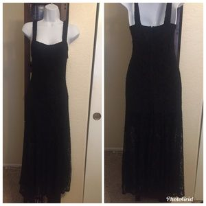 Sexy Forever 21 Black Lace Dress
